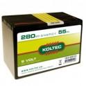 Batterij Saline
