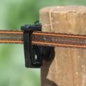 Versterkt bruin 20 mm lint